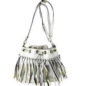 MICHAEL KORS Christy Medium Vanilla Crossbody Bag
